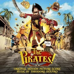 The Pirates! Band of Misfits Soundtrack (Theodore Shapiro) - CD cover