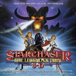 Starchaser: The Legend of Orin Soundtrack  (Andrew Belling) - CD cover