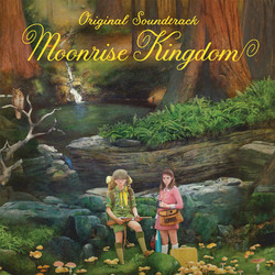 Moonrise Kingdom Soundtrack (Alexandre Desplat) - CD cover