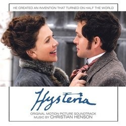 Hysteria Soundtrack  (Christian Henson) - CD cover