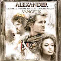 Alexander Soundtrack ( Vangelis) - CD cover