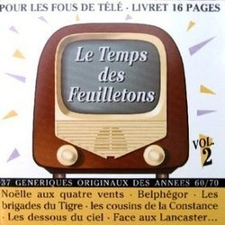Le Temps des Feuilletons Vol.2 Soundtrack  (Various Artists) - CD cover