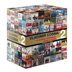 51 Bandes Originales Pour 51 Films Vol.2 Soundtrack (Vladimir Cosma) - CD cover