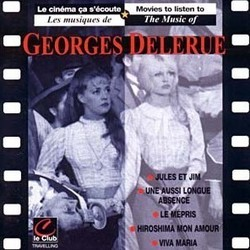 Les Musiques de Georges Delerue Soundtrack  (Georges Delerue) - CD cover