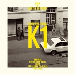 Sonderdezernat K1 Soundtrack (Martin Bottcher) - CD cover