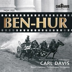 Ben-Hur Soundtrack (Carl Davis) - CD cover