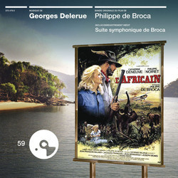 L' Africain Soundtrack (Georges Delerue) - CD cover