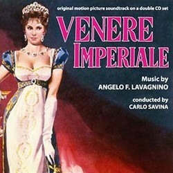 Venere Imperiale Soundtrack  (Angelo Francesco Lavagnino) - CD cover