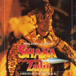 Shaka Zulu Soundtrack (Dave Pollecutt) - CD cover