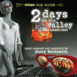 2 Days in the Valley Soundtrack (Jerry Goldsmith) - CD cover