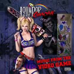 Lollipop Chainsaw Soundtrack (Various Artists, Akira Yamaoka) - CD cover