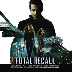 Total Recall Soundtrack (Harry Gregson-Williams) - CD cover